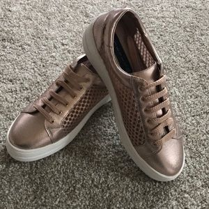 Steven by Steve Madden Rose Gold Kicks